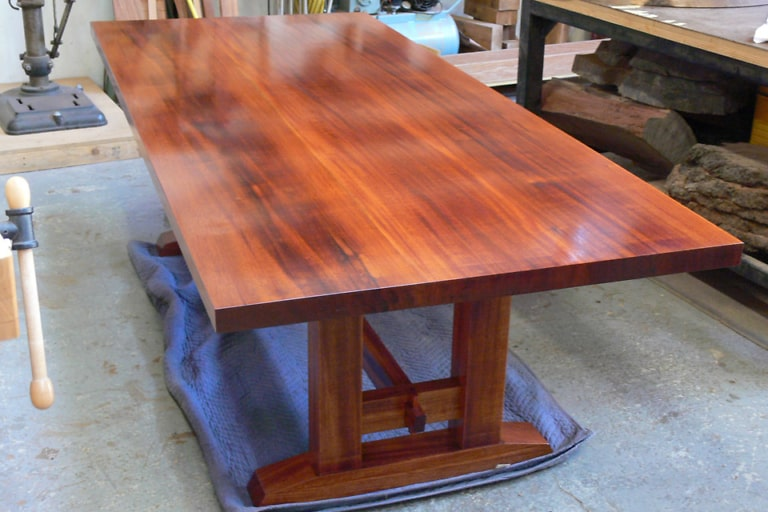 Mahogany Dining Table Offerman Woodshop